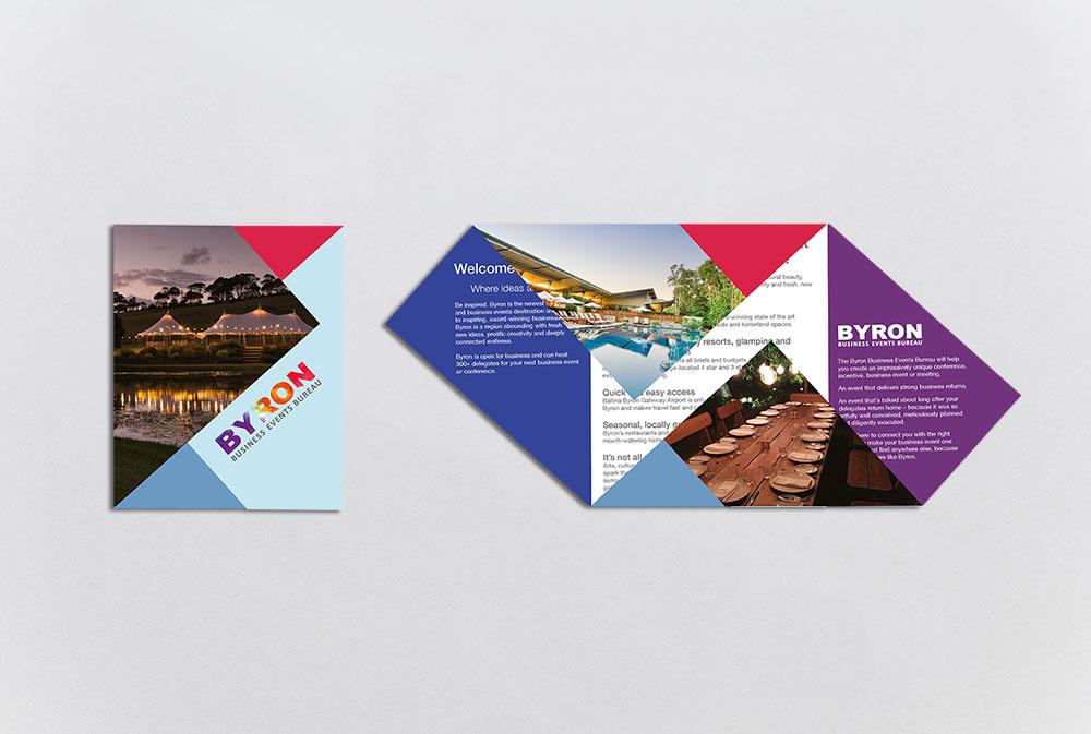 BBEB origami brochure
